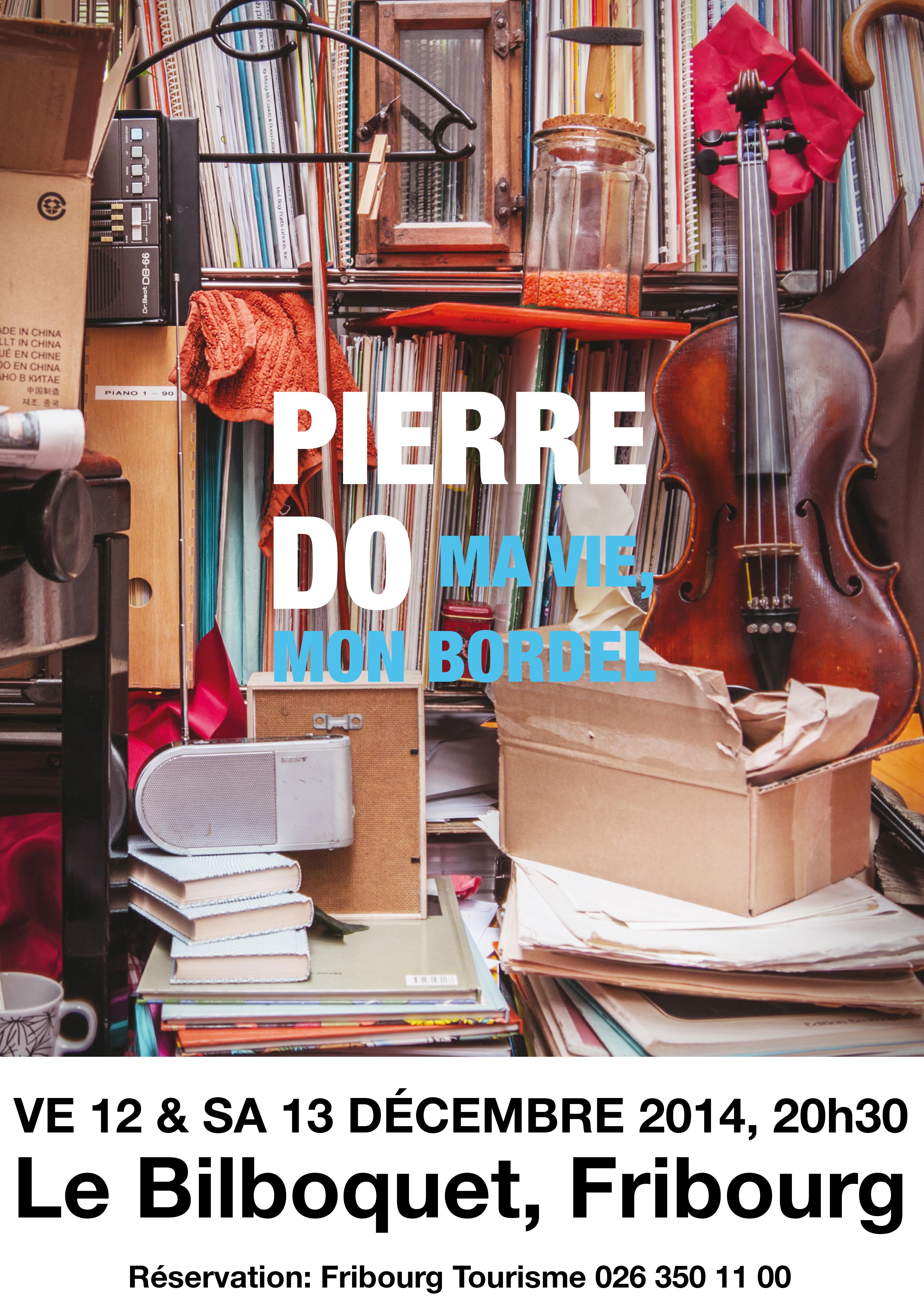 Concerts de Pierre-Do au Bilboquet de Fribourg, les 12 et 13 décembre 2014